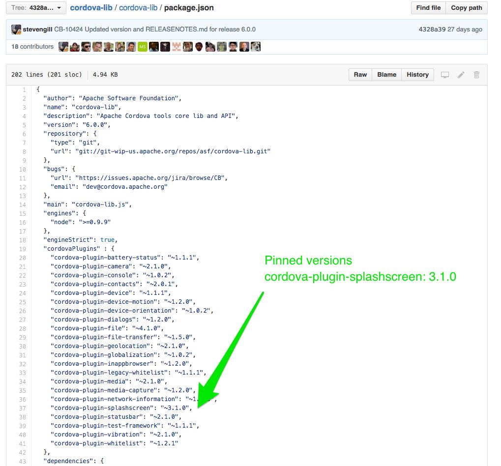 PhoneGap - Pinned Plugin Versions | meumobi Dev Blog